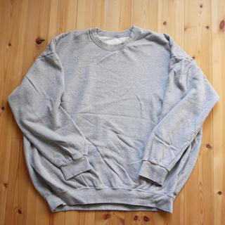 【ばーさんずラブ様専用】久米繊維 BIGスウェットシャツ クルーネック(スウェット)