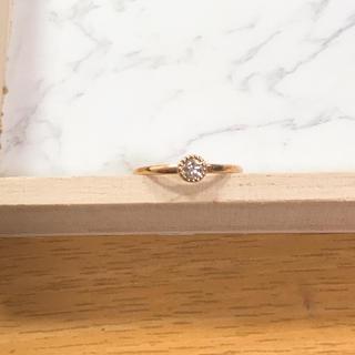ブルーム(BLOOM)のBLOOM K18 ダイヤモンド リング 指輪(リング(指輪))
