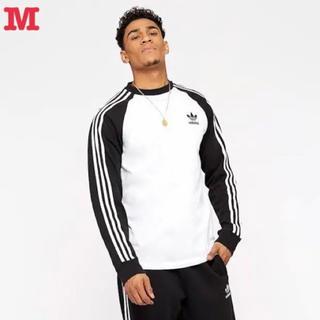アディダス オリジナルス 3ストライプス 長袖 Tシャツ M 新品未使用