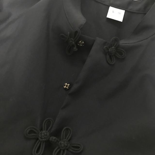 IRONY(アイロニー)の【値下げ中】IRONY アイロニー カンフーシャツ ブラック レディースのトップス(シャツ/ブラウス(長袖/七分))の商品写真