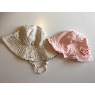 マザウェイズ(motherways)の帽子2つセット 48 50(帽子)