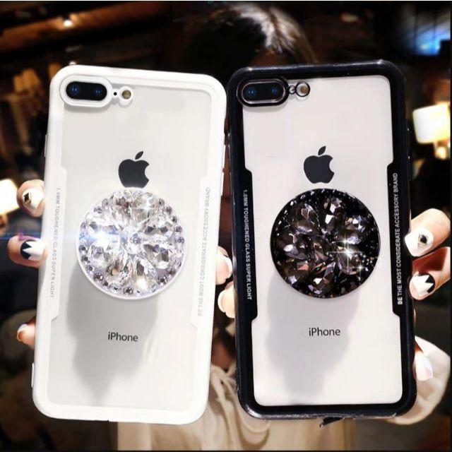 iphonexsmax ケース 猫 | 大人気 韓国 キラキラソケット付き iphone XR ケースの通販 by mioree's shop|ラクマ