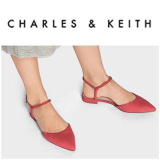 チャールズアンドキース(Charles and Keith)の未使用 CHARLES&KEITH アンクルストラップ サンダル(サンダル)