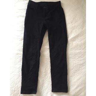 ディーエイチシー(DHC)のDHC ネイビー 暖パンツ(カジュアルパンツ)