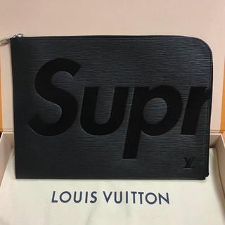 シュプリーム(Supreme)の極美品 Supreme X Louis Vuitton クラッチバッグ(セカンドバッグ/クラッチバッグ)