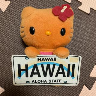 ハローキティ - 【ハローキティ】ハワイ限定 日焼けキティ ぬいぐるみ ★
