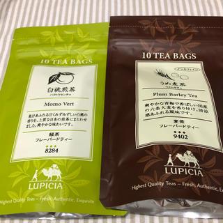 ルピシア(LUPICIA)のティーバッグ 白桃煎茶 うめ麦茶(茶)