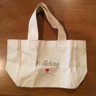 ホリデイ(holiday)のholiday ホリデー ミニトート 付録(トートバッグ)
