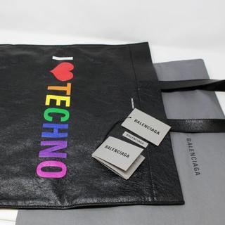 バレンシアガ(Balenciaga)の新品 BALENCIAGA★I LOVE TECHNO ショッパー(トートバッグ)