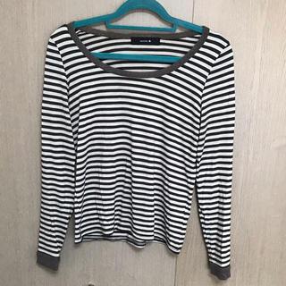 ミスティック(mystic)のmystic★ボーダーTシャツ(Tシャツ(長袖/七分))