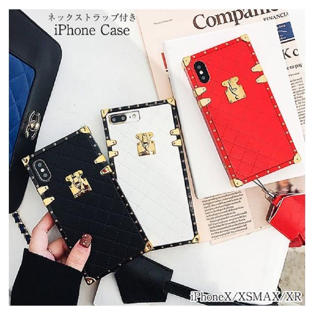 アイフォンケース ストラップ付  XS XR XSMAX iPhoneの通販 by soraneko8877's shop|ラクマ