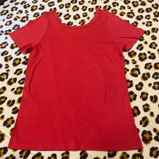 スライ(SLY)の【値下げ】SLY Tシャツ 半袖 赤色 レッド(Tシャツ(半袖/袖なし))