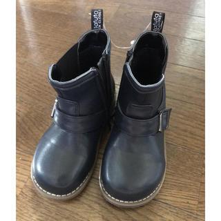 フタフタ(futafuta)の新品未使用品★フタフタ★ショートブーツ★サイズ16センチ★キッズ(ブーツ)