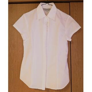 シマムラ(しまむら)の半袖シャツ(白)(シャツ/ブラウス(半袖/袖なし))