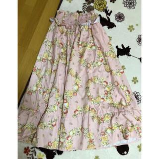 リズリサ(LIZ LISA)のリズリサ フルーツ柄 ロングスカート 新品タグ付き(ロングスカート)