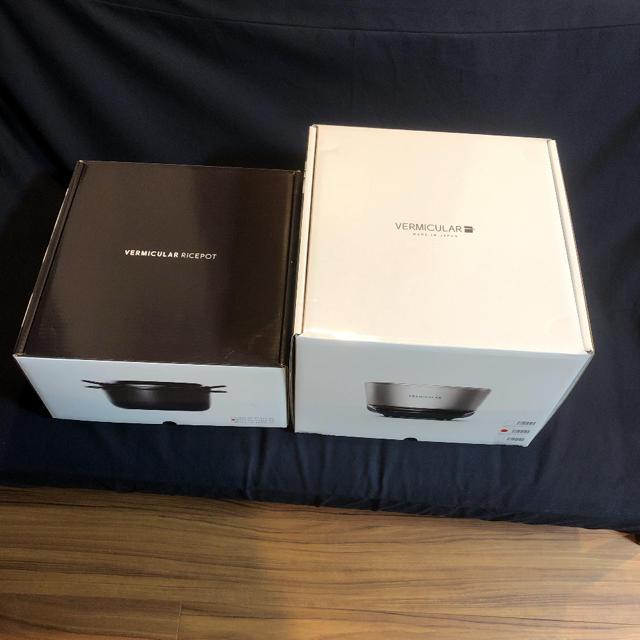 Vermicular(バーミキュラ)のバーミキュラ ライスポット 5合炊き シーソルトホワイト RP23A-WH スマホ/家電/カメラの調理家電(炊飯器)の商品写真