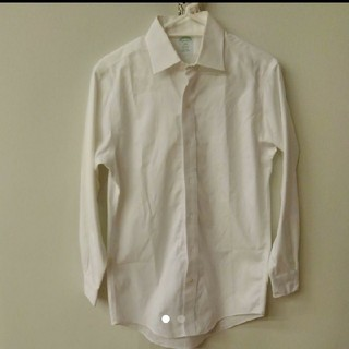 ブルックスブラザース(Brooks Brothers)のブルックスブラザーズ 白シャツ ミラノフィット 14ハーフ/0-1(シャツ)