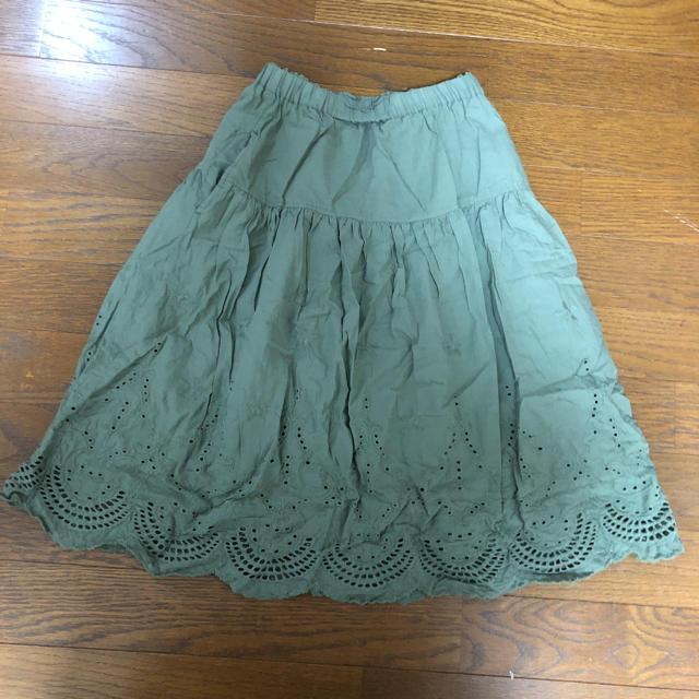 GU(ジーユー)のGU★スカート キッズ/ベビー/マタニティのキッズ服 女の子用(90cm~)(スカート)の商品写真