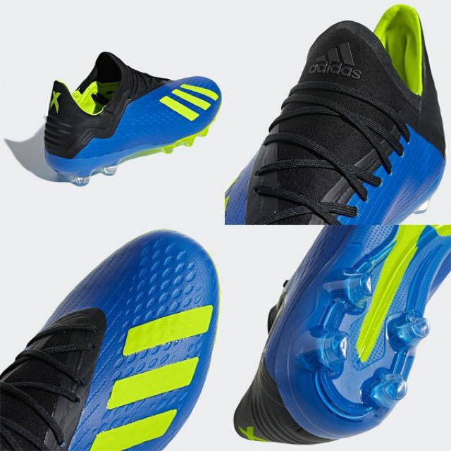 adidas(アディダス)の[アレンジ] アディダス エックス18.2 サッカースパイク 26.5cm スポーツ/アウトドアのサッカー/フットサル(シューズ)の商品写真