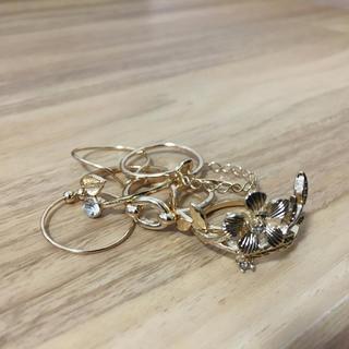 エイチアンドエム(H&M)のリング セット(リング(指輪))