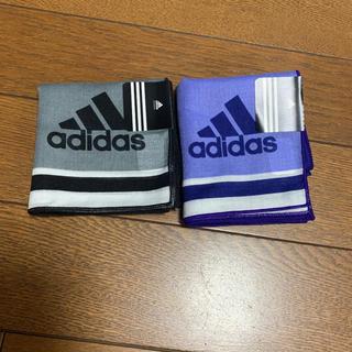 adidas - ハンカチ アディダス 2枚 ☆新品