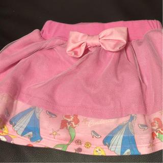 5e3ca6d0de869 ベビードール(BABYDOLL)のディズニープリンセス 80センチスカート (スカート)