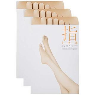 アツギ(Atsugi)の[アツギ] ASTIGU(【指】 5本指 ストッキング L−LL 2足組(タイツ/ストッキング)