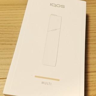 アイコス(IQOS)のIQOS multi マルチ ゴールド 新品未開封 アイコス(タバコグッズ)