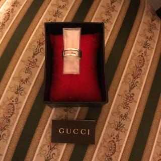 グッチ(Gucci)のGUCCI / ブランテッドレギュラーGリング ※たく様専用‼️(リング(指輪))