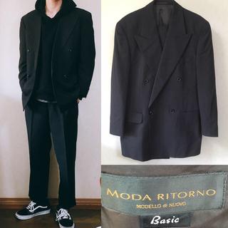 コムデギャルソン(COMME des GARCONS)のMODARITORNO セットアップ ダブルジャケット スーツ ワイド(セットアップ)