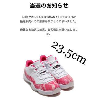 ナイキ(NIKE)の完売品★NIKE WMNS AIR JORDAN 11 RETRO LOW (スニーカー)
