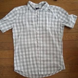 ギャップ(GAP)のGAP ギャップ チェックシャツ 半袖シャツ(シャツ)