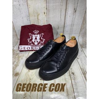 ジョージコックス(GEORGE COX)の未使用 ジョージコックス レザースニーカー UK6 24.5cm(ドレス/ビジネス)