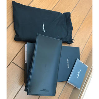 サンローラン(Saint Laurent)のSaint Laurent 長財布 正規品 BLACK(長財布)