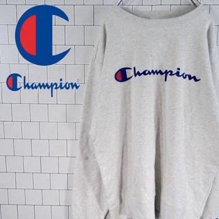 チャンピオン(Champion)の【激レア】チャンピオン デカロゴ リブロゴ スウェット トレーナー 90s (スウェット)