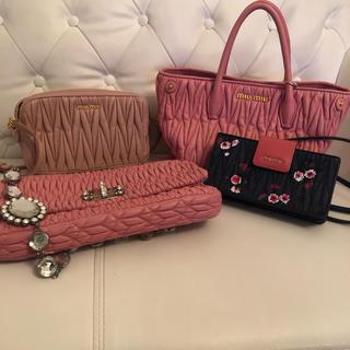ミュウミュウ(miumiu)のミュウミュウ すべて美品まとめうり正規品(ハンドバッグ)