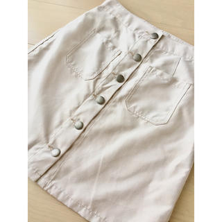 ローリーズファーム(LOWRYS FARM)のスエード台形スカート(ミニスカート)