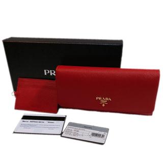 a3140d0577d7 プラダ(PRADA)の新品 PRADA プラダ サフィアーノ 長財布 ウォレット パスケース付 正規