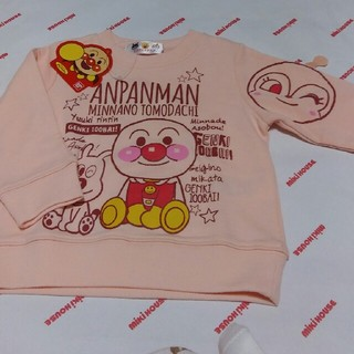 アンパンマン(アンパンマン)のお値下げ アンパンマン 80㎝新品トレーナー(トレーナー)
