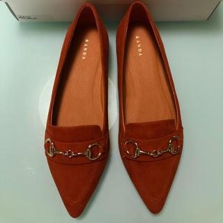 ランダ(RANDA)の未使用 RANDA ポインテッドトゥビットローファー(ローファー/革靴)