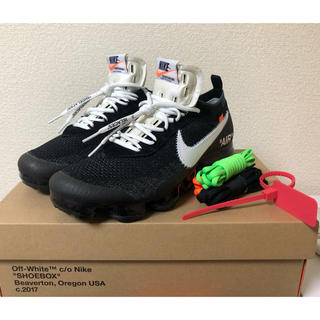 ナイキ(NIKE)のThe 10 off white vapor max (スニーカー)