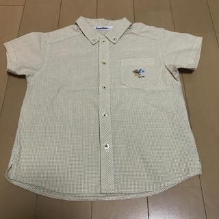 ファミリア(familiar)のファミリア 100㎝ 男の子用 ワンチャン柄 半袖シャツ(ブラウス)