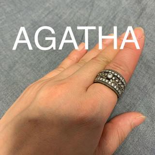 アガタ(AGATHA)のAGATHA シルバー リング(リング(指輪))