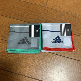adidas - ハンカチ アディダス 2枚 ☆新品☆