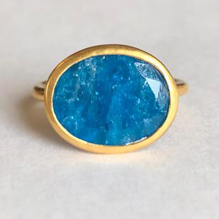 ブルーアパタイト k9 ゴールド リング 検索 マリーエレーヌ ジェムパレス(リング(指輪))