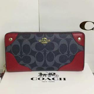 buy popular 28220 de188 COACH - ☆コーチ財布☆ラグジュアリー クロスグレイン レザー ...