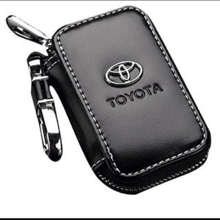 トヨタ(トヨタ)の新品未使用 トヨタ キーケース TOYOTA レザー(車外アクセサリ)