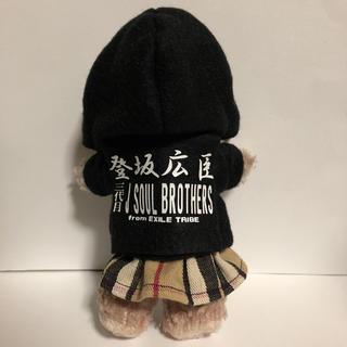 サンダイメジェイソウルブラザーズ(三代目 J Soul Brothers)の三代目 ぬいぐるみバッジ用パーカー&スカート(その他)