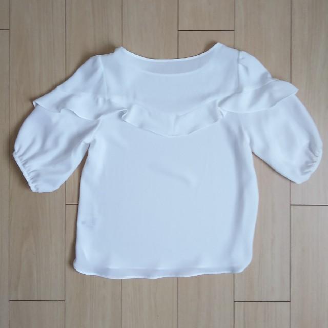 GU(ジーユー)のGUブラウス レディースのトップス(Tシャツ(長袖/七分))の商品写真