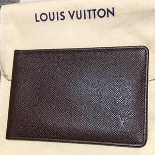 ルイヴィトン(LOUIS VUITTON)のLOUISVUITTONのパスケース&カード入れ(パスケース/IDカードホルダー)